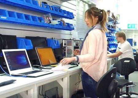 Centro de Reparación de Computadoras
