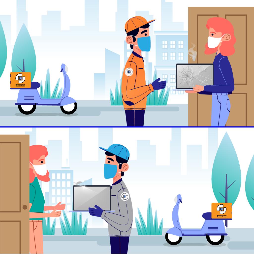 delivery reparacion computadoras